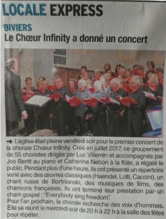 Article du Dauphiné Libéré - Mai 2018